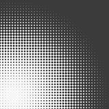 Abstract graphic: Halftone element made of 4-point stars Royalty Free Stock Image