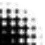 Abstract graphic: Halftone element made of 4-point stars Stock Photo