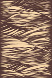 Abstract graphic line brush drawn style illustration background   Brown and cream color tone modern art Royalty Free Stock Images