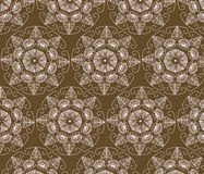 Abstract graphic Ornament flower pattern Stock Photo