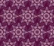 Abstract graphic Ornament flower pattern Royalty Free Stock Photography