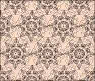 Abstract graphic Ornament flower pattern Stock Image