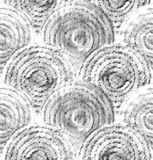 Abstract graphic scales. Hand drawn seamless pattern Royalty Free Stock Photos