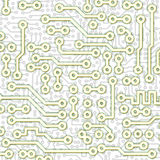Abstract graphical circuit board light pattern Royalty Free Stock Photo