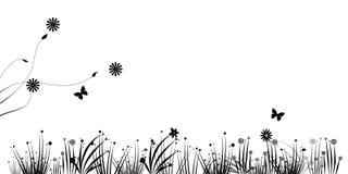 Abstract gras stock illustratie