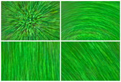 Abstract Grass. Collage of abstract green grass royalty free stock images