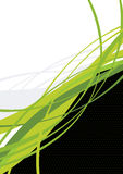 Abstract grass background. An abstract background of greens, white and black, resembling grass. Appropriate for environmental themes royalty free illustration