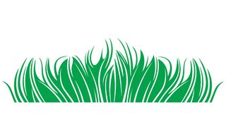 Abstract Grass. Herbage. Vector illustration EPS Stock Images