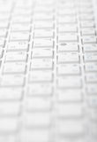 Abstract gray background - computer keyboard Stock Images