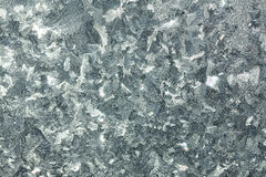 Abstract gray background from a frosty pattern on glass Royalty Free Stock Photography