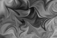 Abstract Gray Black en de Witte Marmeren Achtergrond van het Inktpatroon Maak Abstract Patroon met Zwarte vloeibaar, Wit, Grey Gr stock illustratie