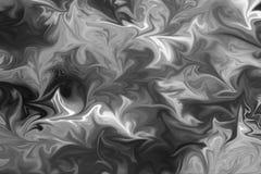 Abstract Gray Black en de Witte Marmeren Achtergrond van het Inktpatroon Maak Abstract Patroon met Zwarte vloeibaar, Wit, Grey Gr vector illustratie