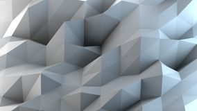 Abstract gray and blue background. 3D rendering Royalty Free Stock Photos