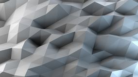 Abstract gray and blue background. 3D rendering Stock Photos