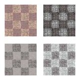 Abstract gray brown squares seamless pattern set , texture background. Abstract gray brown squares seamless pattern set , texture background Royalty Free Stock Image