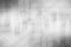 Abstract gray circle and square background Stock Image