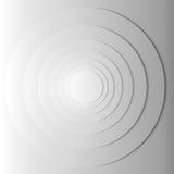 Abstract gray circles with shadow. EPS 10 Royalty Free Stock Photo
