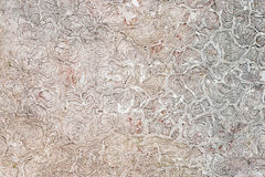 Abstract gray crackled texture background. Abstract crackled texture background pattern in light gray and white colours, with rambling disordered spheres Royalty Free Stock Photography