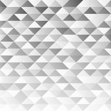 Abstract gray geometric background with soft light. Vector illustration Stock Illustration