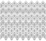 Abstract gray geometric pattern. Vector illustration. Abstract gray geometric pattern on a white background. Vector illustration Royalty Free Stock Images