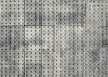 Abstract gray grungy industrial panels background Royalty Free Stock Photos