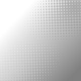 Abstract gray halftone dots background Stock Images