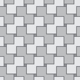 Abstract gray square seamless vector texture Royalty Free Stock Photography