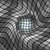 Abstract gray mosaic vector background Royalty Free Stock Photo