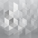 Abstract gray overlap geometric background Royalty Free Stock Photos