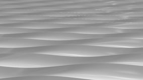 Abstract gray plastic waves 3D rendering. Abstract gray plastic waves. 3D rendering Royalty Free Illustration