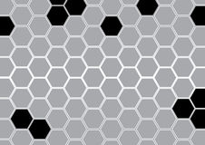Abstract gray polygon background vector illustration. Rgb mode Royalty Free Stock Photos