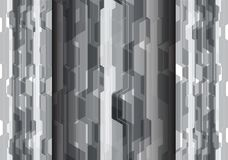 Abstract gray polygon futuristic technology  design modern background vector. Illustration Royalty Free Stock Photos