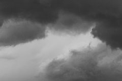 Abstract Gray sky cloudy texture Royalty Free Stock Images