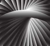 Abstract gray spiral background Royalty Free Stock Photo