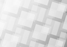 Abstract gray square background Stock Images
