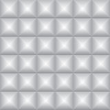 Abstract gray square embossed shadow background, illustration ve Royalty Free Stock Photography