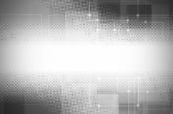 Abstract gray tech background. Stock Image