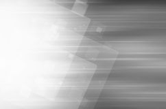 Abstract gray technology background. Abstract square tech on gray background Stock Photo