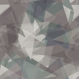 Abstract gray triangles background. Vector. Abstract gray triangles background. Seamless pattern. Vector illustration Royalty Free Stock Photography