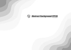 Abstract gray wave background Stock Photo