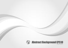 Abstract gray wave modern stream background. Stock Image