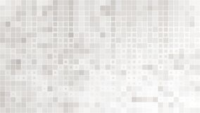 Abstract gray white background with mesh of squares. Mosaic. stock illustration