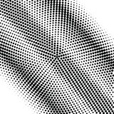 Abstract grayscale halftone background Royalty Free Stock Photos