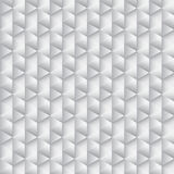 Abstract grayscale hexagon Royalty Free Stock Photo