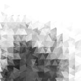Abstract grayscale light template background. Vector illustration Royalty Free Stock Image