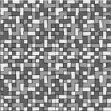 Abstract grayscale pixel background seamless Stock Photo