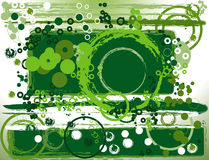 Abstract greeen composition