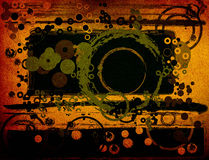 Abstract greeen composition Royalty Free Stock Images