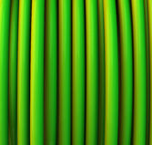 Abstract green 3d background. Abstract green 3d tubes background Stock Photography