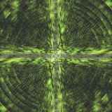 Abstract Green. A futuristic abstract design stock illustration
